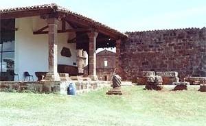 Museu das Missões e casa do zelador<br />Foto Ricardo Rocha