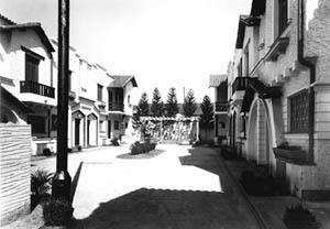 Jardim Anhanguera, vila de casas na rua Venâncio Aires, 1946-47