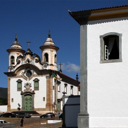 Igreja Nossa Senhora do Carmo, Mariana MG<br />Foto Abilio Guerra