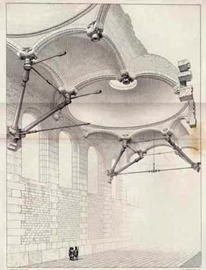 Composição, Entretiens sur l'Architecture. Paris, 1863, pl. 21, Viollet-le-Duc