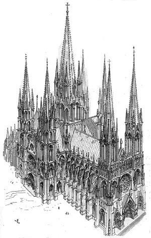 Catedral ideal, Viollet-le-Duc