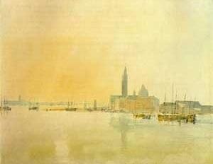 Meio da manhã em S. Giorgio Maggiore, 1819, William Turner
