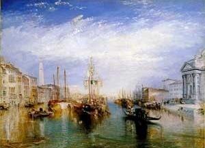 O grande canal de Veneza, 1835, William Turner