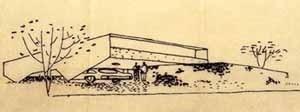 Residência Mário Taques Bittencourt, São Paulo, 1959. Arquitetos Vilanova Artigas e Carlos Cascaldi [Vilanova Artigas. São Paulo, coleção Arquitetos Brasileiros, Instituto Lina Bo e P. M. Bar]