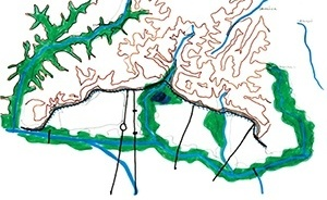 Rio Tietê e afluentes na região de Vila Maria e Campo de Marte