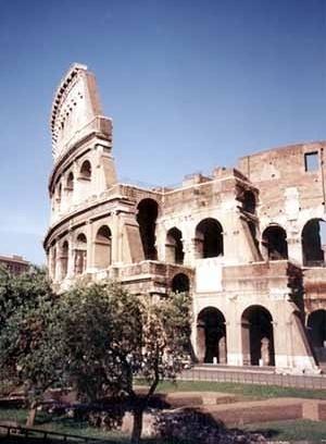 Coliseu, Roma, Itália<br />Foto A. Guerra