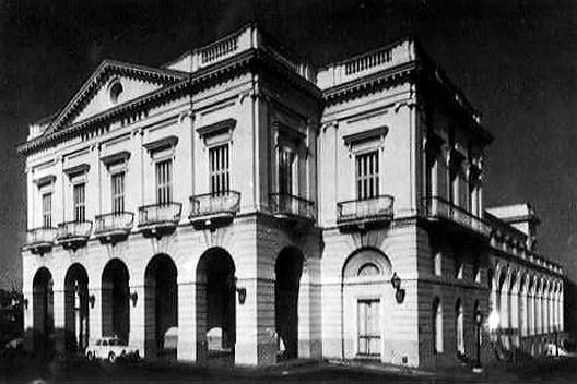Teatro Sauto de Matanzas, inaugurado en 1863, fue proyectado por el arquitecto italiano Daniel D'Allaglio
