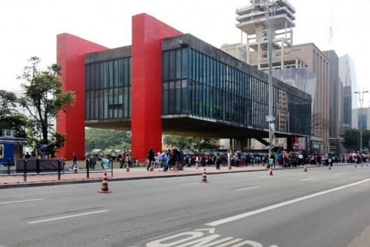 Masp, São Paulo. Arquiteta Lina Bo Bardi<br />Foto Bruno Dias