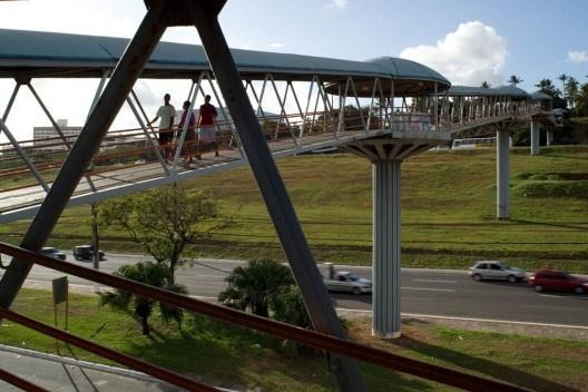 Via expressa em Salvador<br />Foto Nelson Kon