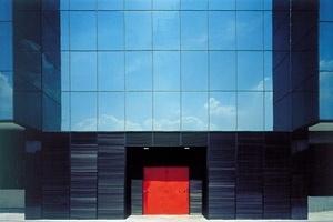 Edifício corporativo, São Paulo. Arquiteto Miguel Juliano<br />Foto Nelson Kon