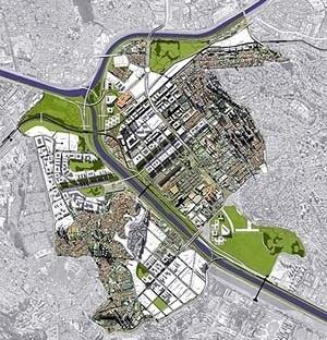 PRIOU – Plano-Referência de Intervenção e Ordenação Urbanística. Operação Urbana Vila Leopoldina: planimetria geral