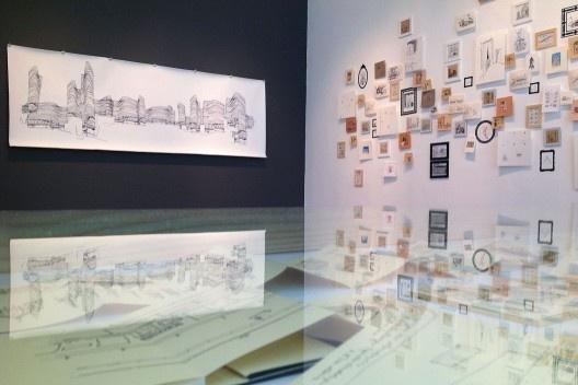 """""""Arquitetura do Desenho"""", MCB, sala 5, São Paulo, 2012. <br />Foto Zeuler Lima"""