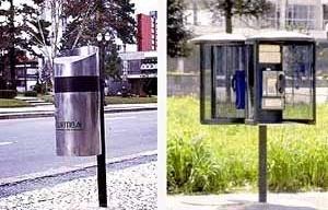 Mobiliário urbano para calçadas, Manoel Coelho