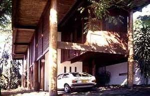 Residência do Arquiteto, Manaus, 1971, Arquiteto Severiano Porto