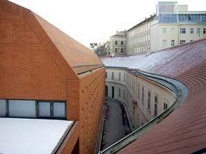 Museumsquartier, Ortner & Ortner, Viena, 1994-2002