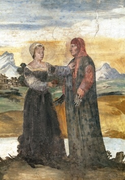 Laura di Sade and Francesco Petrarca (c. 14-19)<br />Autor anônimo  [Wikimedia Commons]