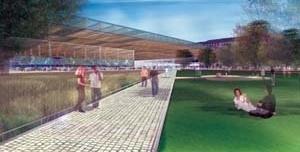 Concurso para reurbanização de Le Halles, Paris. Projeto de SEURA / David Mangin [Projet Les Halles]