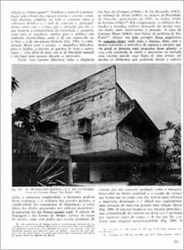 """Página interna do livro [""""Arquitetura Contemporânea no Brasil"""", de Yves Bruand, p. 313]"""