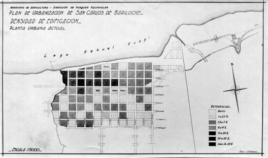 Proyecto urbano de Estrada para Bariloche, 1937-1940 [Colección familia Estrada]