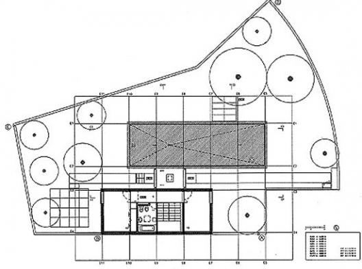 Casa Milhundos, planta pavimento superior