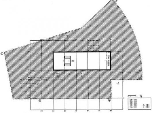 Casa Milhundos, planta sub-solo