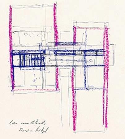 Casa Milhundos, desenho de Francisco Portugal e Gomes