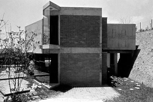 Residência Waldo Perseu Pereira, São Paulo SP, 1967. Arquiteto Joaquim Guedes e Liliana Guedes<br />Foto Joaquim Guedes