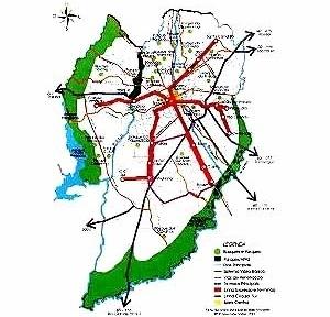 Plano de Áreas Verdes de Curitiba, 1999