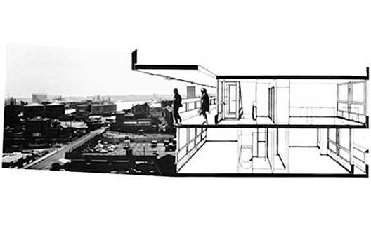 Conjunto Habitacional Robin Hood Garden, Alison e Peter Smithson, Londre, 1966/1972
