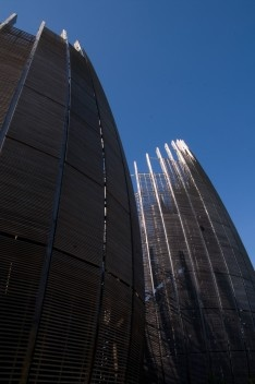 Tjibaou cultural Center<br />Foto Fanny Schertzer  [Wikimedia Commons]