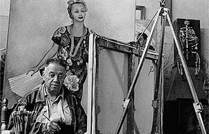 Diego de Rivera pintado <br />Foto Nacho López  [Arquivo Cedodal]