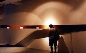 Panorama Emergente Iberoamericano. Joven arquitectura. Serie Cruzados. Museografía-Intersticios, Arquitecto Gonzalo Cruz, Per [http://www.bienaliberoamericanadearquitectura.org/panorama/pei.html]