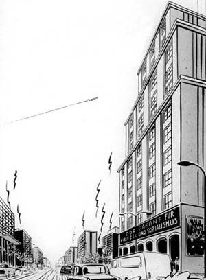 CLEMENT (desenho/texto). L'ange bleu, 1983. Magic Strip