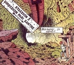 MOEBIUS (desenho/texto). L´Homme est'il bon?, 1979. Humanóides Associés