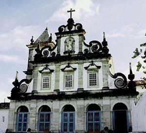 Igreja franciscana de Cairu<br />Foto do autor