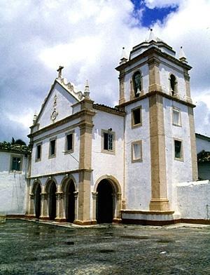 Igreja franciscana de Ipojuca<br />Foto do autor