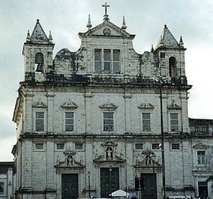Antiga igreja jesuíta de Salvador [Foto do autor]
