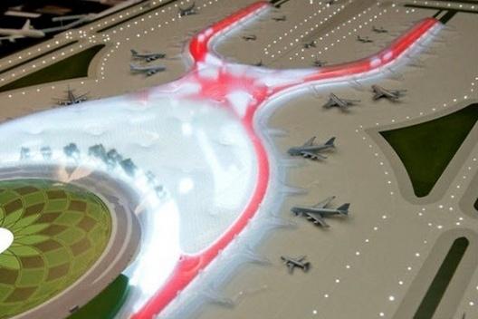 Ampliación del Aeropuerto Internacional de la Ciudad de México, Foster and Partners<br />Imagem divulgação
