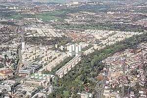 Desenho urbano para Stuttgart, arquiteto Von Gerkan Marg