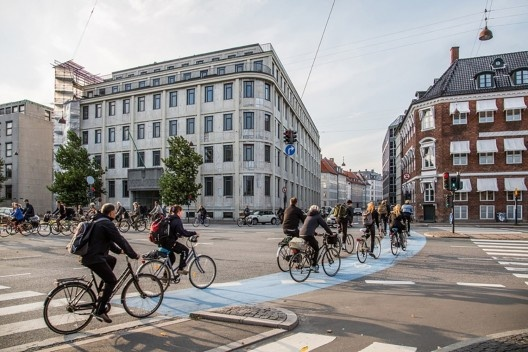 Rua Stroget em Copenhagen <br />Foto Tony Webster  [Wikimedia Commons]
