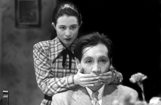 """Cena do filme """"O idiota"""" ((<i>The Idiot(</i>, 1951), direção de Akira Kurosawa, adaptação de romance de Fyodor Dostoyevsky<br />Foto divulgação"""