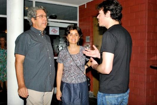 Renato Anelli, Ana Paula Kouri e Flavio Coddou<br />Foto Thomas Bussius