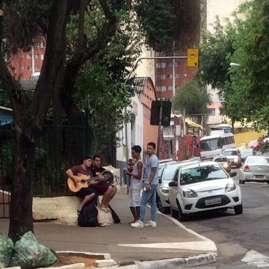 Roda de choro em São Paulo<br />Foto Abilio Guerra
