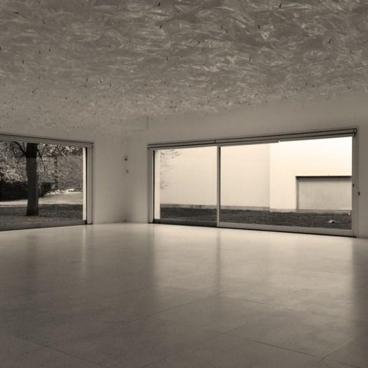 Espaço expositivo do subsolo, Museu de Serralves, Porto<br />Foto Gabriel Cesar