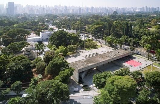 Exposição Paulo Mendes da Rocha & L'Architecture Moderne au Brésil, Museu Brasileiro da Escultura – MuBE, São Paulo<br />Foto Martim Passos