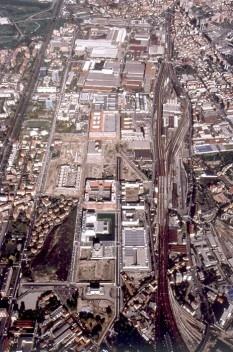 Renovação da área da Bicocca, Milão. Arquiteto Vittorio Gregotti<br />Foto divulgação  [Gregotti Associati International]