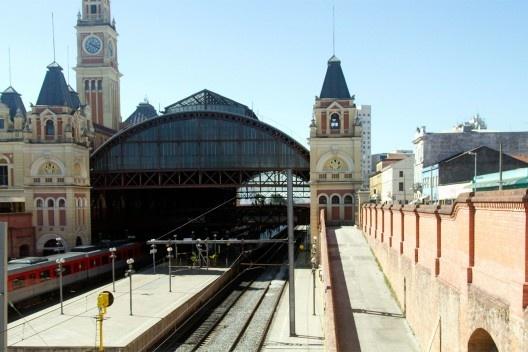 Estação da Luz<br />Foto Silvana Romano