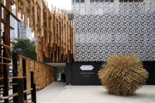Japan House, São Paulo, 2017, arquiteto Kengo Kuma<br />Foto Divulgação/Marina Coelho