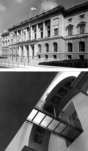 Parlamento do Estado de Berlim (antigo Parlamento da Prússia). ARGE RKS, Marina Stankovic´Architekten, 1991-93