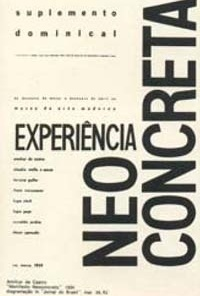 Suplemento Dominical do Jornal do Brasil, 21/03/1959: livre experimentação